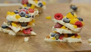 Frozen Yogurt Bark - Video