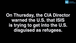 Despite CIA Warnings Obama Admin Brings In 441 Syrian Refugees Since Orlando Shooting - Video