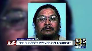 SAFETY ALERT: Man accused of sexually assaulting tourists - Video