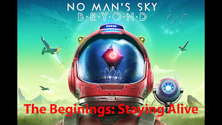 No Man's Sky: The Beginnings - Staying Alive, Launch Ship & Base Building - [00004]