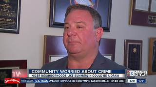 Community worried about crime