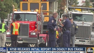 NTSB release preliminary report on deadly bus crash - Video