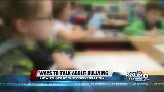How to talk to your children about bullying