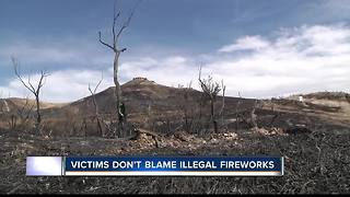 Table Rock Fire victims don't want to see a ban on illegal fireworks sales - Video