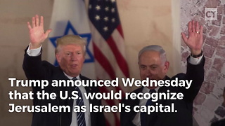 President Donald Trump's Israel Move Comes After Former President Barack Obama - Video