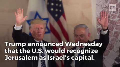 President Donald Trump's Israel Move Comes After Former President Barack Obama