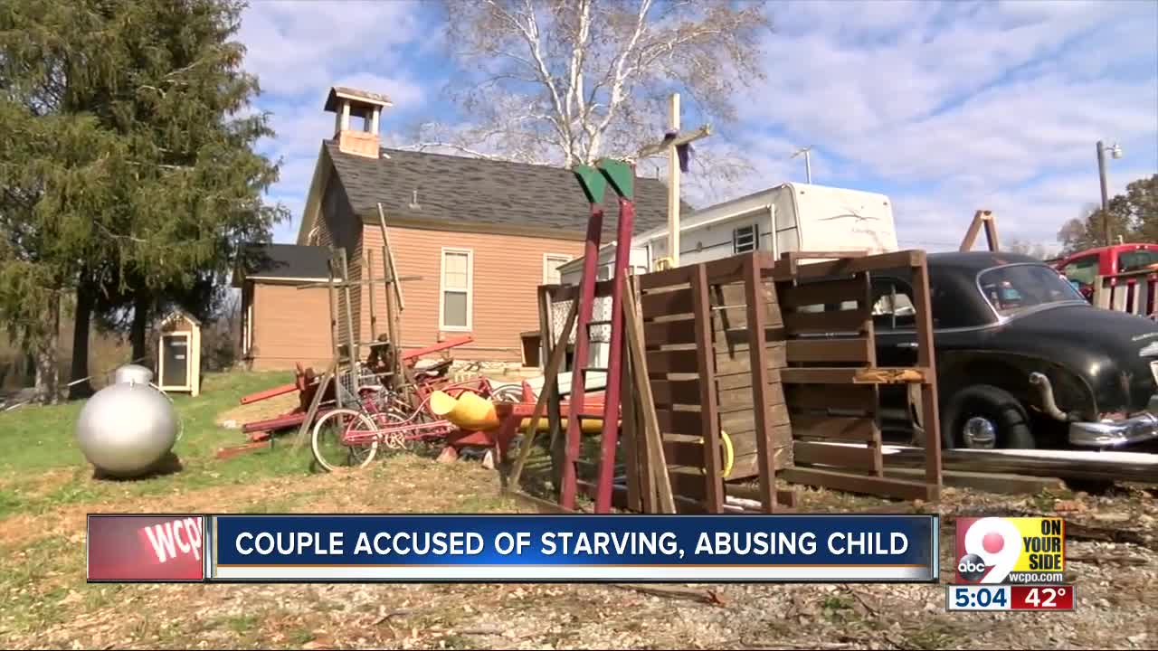 Couple accused of starving, abusing child in Brown County