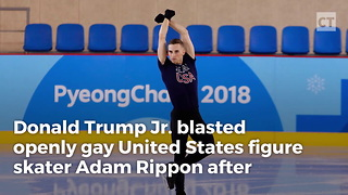 Don Jr. Blasts Gay Olympian for Attacking Mike Pence - Video