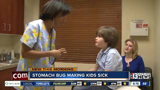Stomach bug making kids school - Video