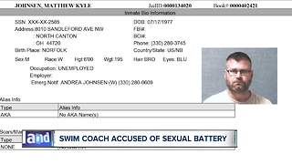Hoover High School swim coach of more than 15 years accused of sexual battery - Video