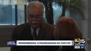 Ed Pastor to lie in state at Arizona State Capitol today