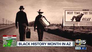 Black history month celebrated in historic Randolph, AZ - Video