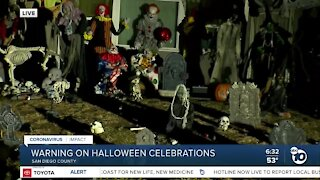 County leaders issue warning over Halloween celebrations