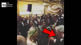 George W. Bush Dancing At Nephew's Wedding - Video