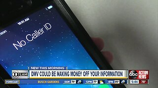 DMV could be making money off your information