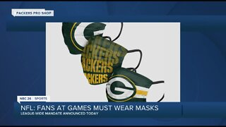 NFL mandates fans wear mask at games this fall