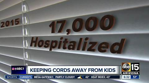 Corded blinds remain a deadly danger for kids in United States