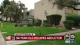 Elderly valley woman kidnapped and escapes - Video