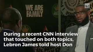 LeBron James Says Trump Is Using Sports To Divide the Nation - Video