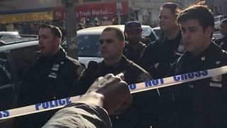 Crown Heights Crowd Confronts Police Following Officer-Involved Shooting - Video