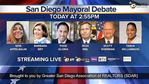 San Diego 50th District & Mayoral Debate