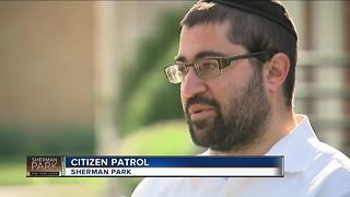 Citizen patrol group targets Sherman Park - Video