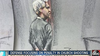 Defense focusing on penalty in Charleston church shooting - Video