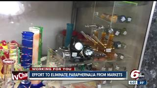 Community leaders want to remove drug paraphernalia from local convenience stores - Video