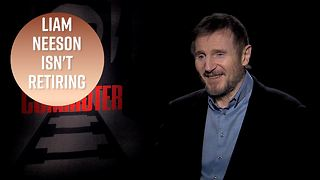 Liam Neeson was joking about retiring from action films - Video