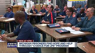 Metro Detroit based program changing lives of many people serving time - Video