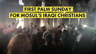 3 years without Palm Sunday for Iraqi Christians - Video