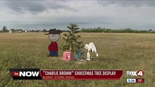 Charlie Brown-themed Christmas display returns in Cape Coral
