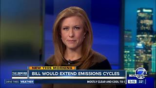 Lawmakers considering a bill to change emissions rules - Video