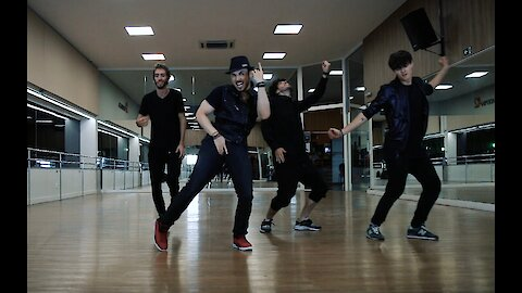 Dance crew pays tribute to Justin Timberlake's 'Can't Stop The Feeling'