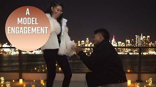 Chanel Iman gets engaged to NFL player - Video