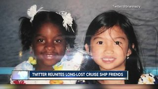 Cruise ship friends reunited thanks to Twitter