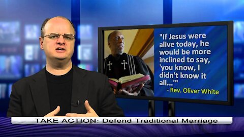 2013-04-05-Pastor: Jesus wrong about gay marriage - 1 min. - Dr. Chaps