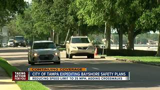 City of Tampa expediting Bayshore safety plans - Video