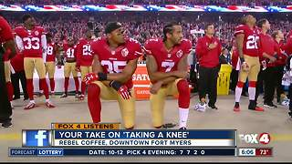 Fox 4 Listens: viewers share their take on NFL kneeling protests - Video