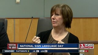 Sign language keeping citizens informed
