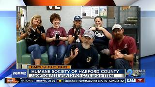 Good morning from the Humane Society of Harford County!