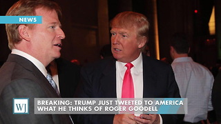 Breaking: Trump Just Tweeted To America What He Thinks Of Roger Goodell - Video