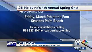 211 Helpline holding 4th annual spring gala March 9 - Video