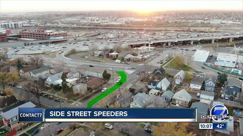 'This is a frickin' highway!': Impatient commuters turn Denver side street into shortcut