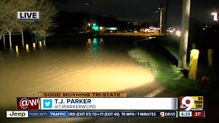 Storms cause flooding in Miamitown - Video