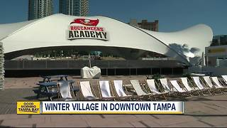 Winter Village at Curtis Hixon Park opens Friday for the holidays - Video