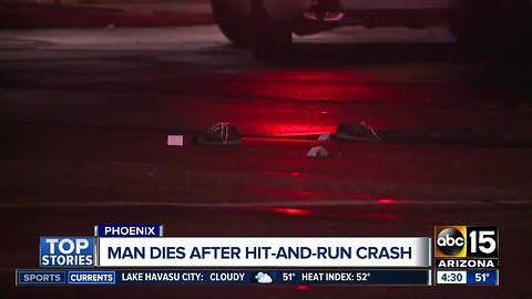Driver sought after killing pedestrian near 51st Avenue and Thomas Road