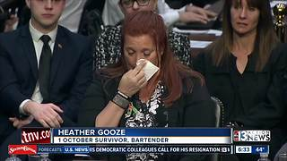 Las Vegas bartender testifies about mass shooting - Video