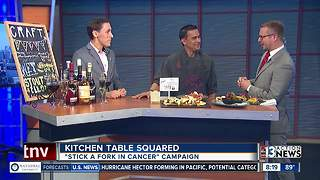 Kitchen Table Squared talks about Stick a Fork in Cancer - Video