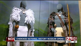 Cherokee National History Museum opens